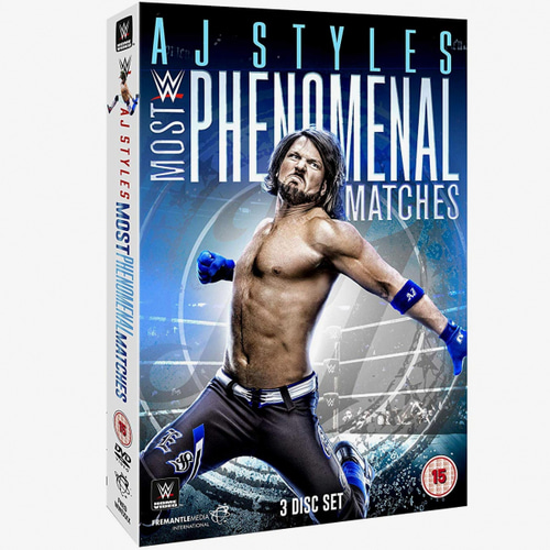 AJ 스타일스[Most Phenomenal Matches]정품 DVD