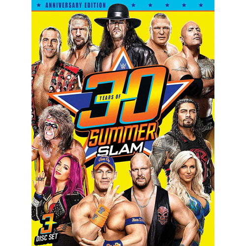 WWE[30 Years of SummerSlam]정품 DVD