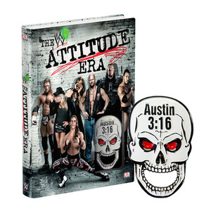 WWE[The Attitude Era]하드커버 북