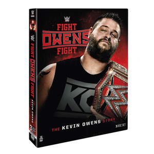 케빈 오웬스[Fight Owens Fight: The Kevin Owens Story]정품 DVD