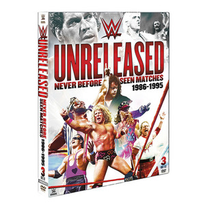 WWE 언릴리즈드[Never Before Seen Matches 1986-1995]정품 DVD