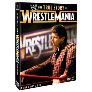 WWE[The True Story of WrestleMania]정품 DVD