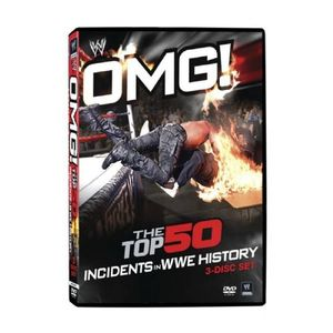 WWE[OMG! The Top 50 Incidents in WWE History]정품 DVD